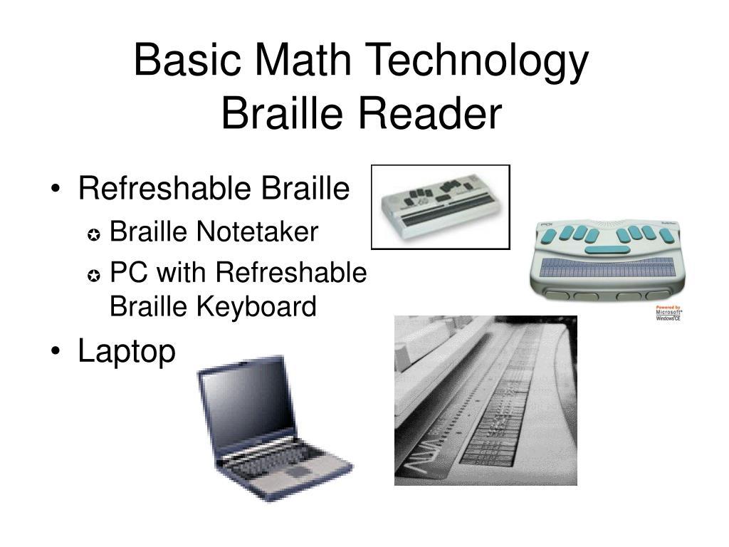 Basic Math Technology