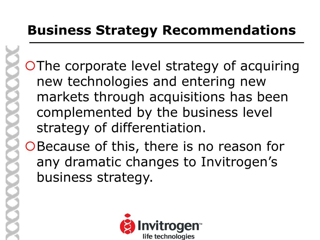 Business Strategy Recommendations