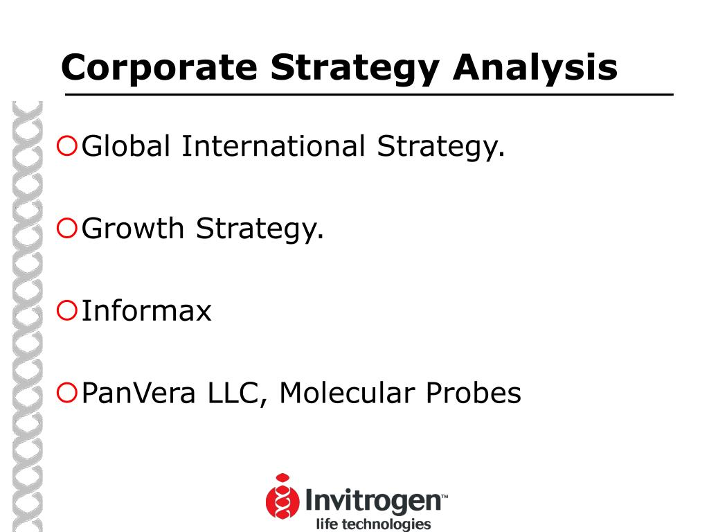 Corporate Strategy Analysis