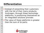 differentiation71