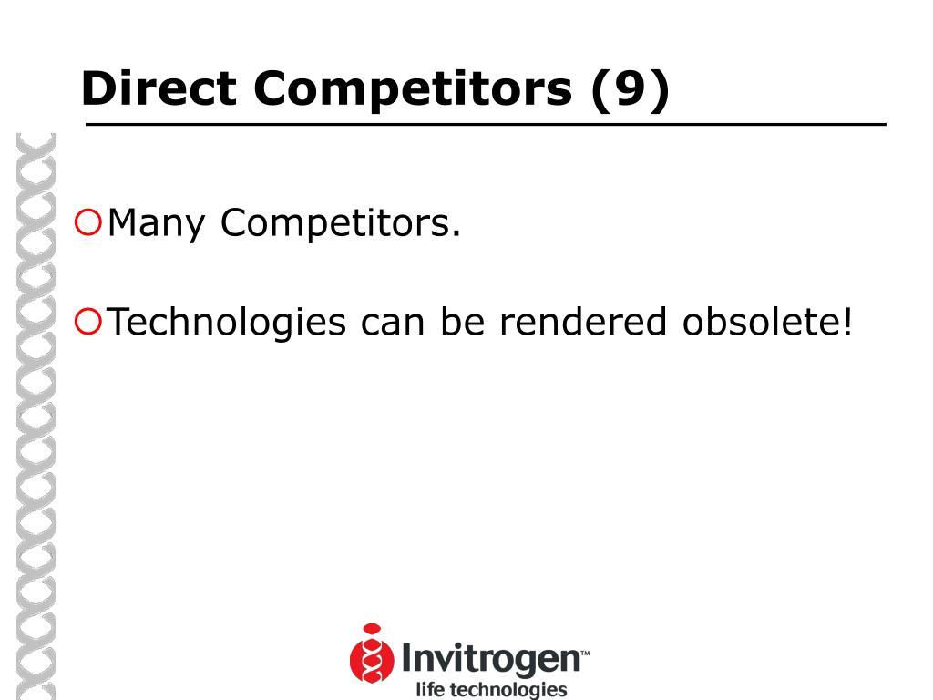 Direct Competitors (9)