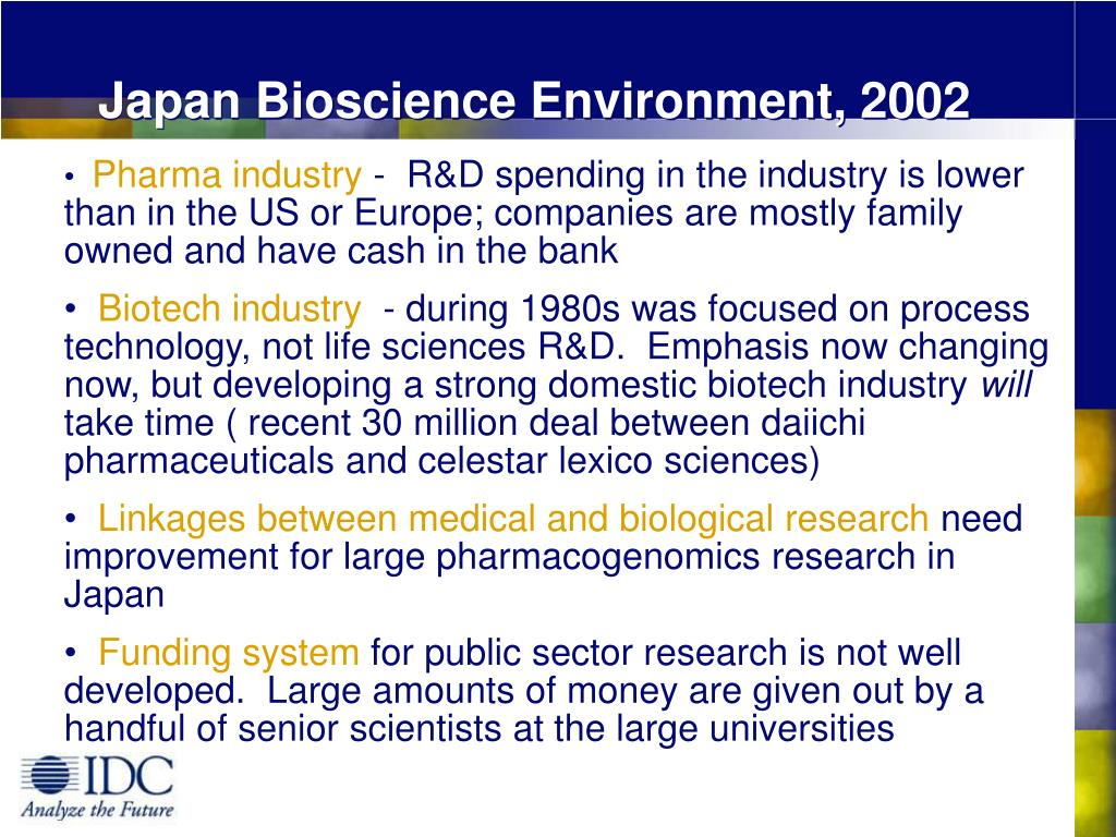 Japan Bioscience Environment, 2002