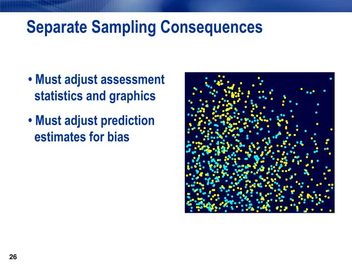 Separate Sampling Consequences