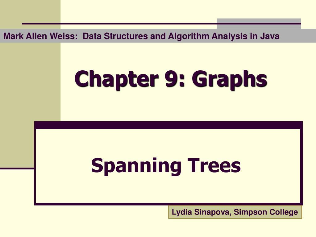 Mark Allen Weiss:  Data Structures and Algorithm Analysis in Java