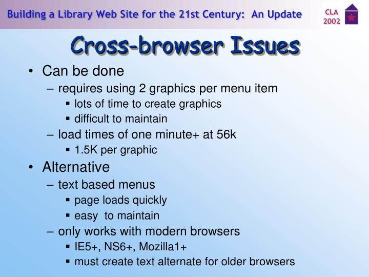 Cross-browser Issues