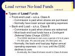 load versus no load funds22