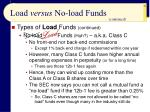 load versus no load funds23