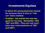 investments equities14