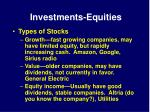 investments equities15