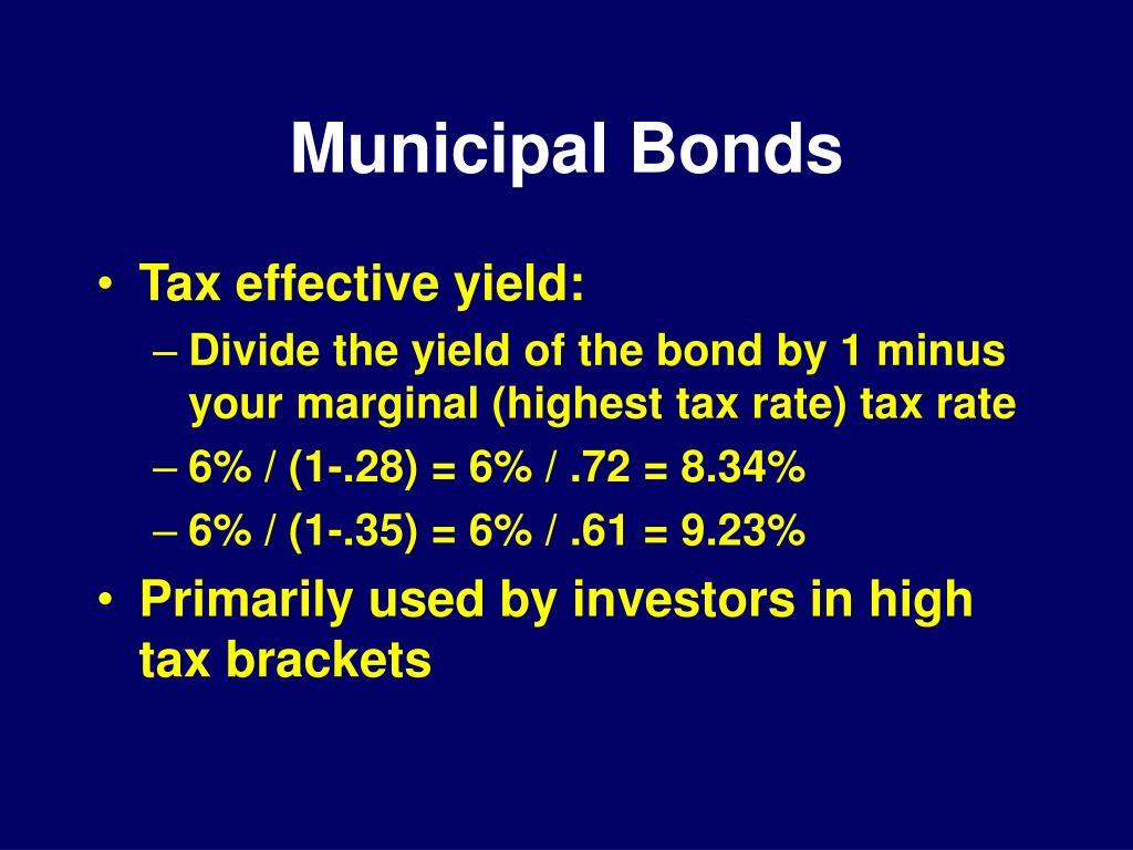 Municipal Bonds
