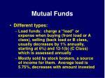 mutual funds36