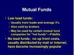 mutual funds38