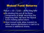 mutual fund returns12
