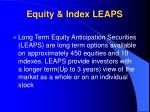 equity index leaps