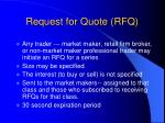 request for quote rfq