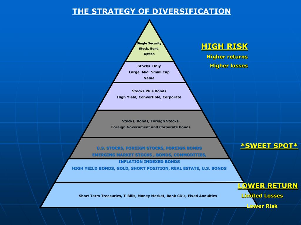 THE STRATEGY OF DIVERSIFICATION