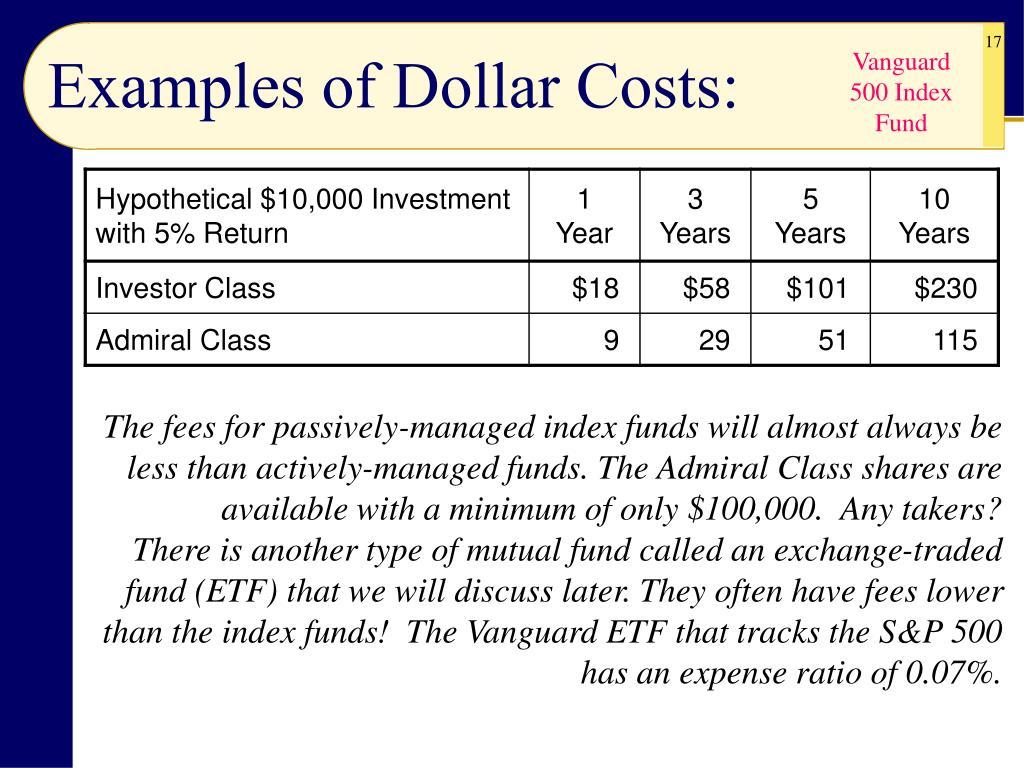 Vanguard 500 Index Fund