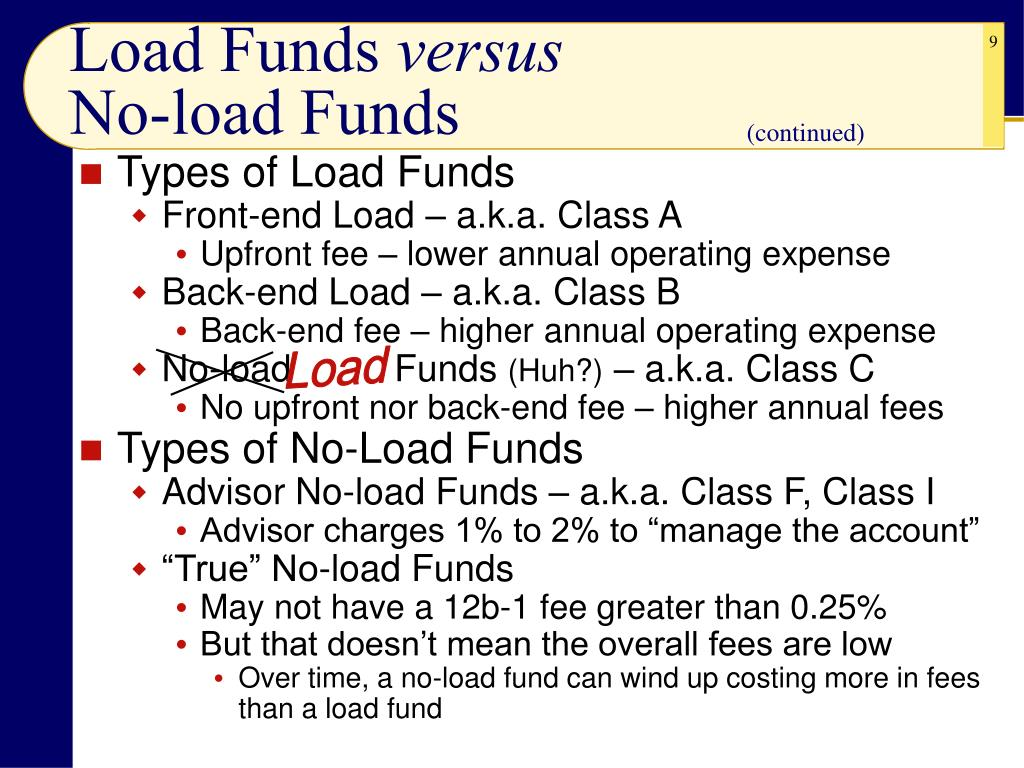 Load Funds