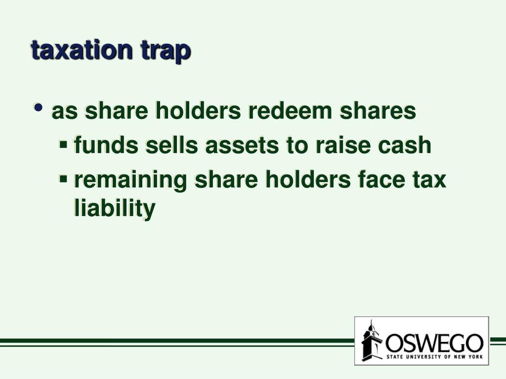 taxation trap