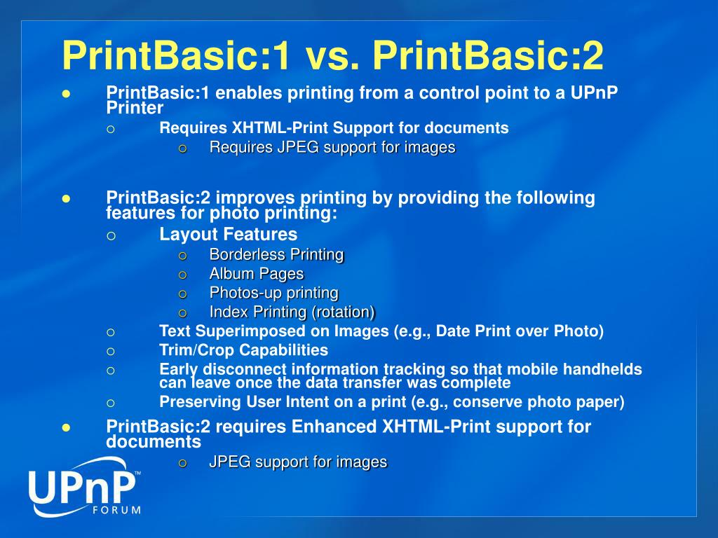 PrintBasic:1 vs. PrintBasic:2