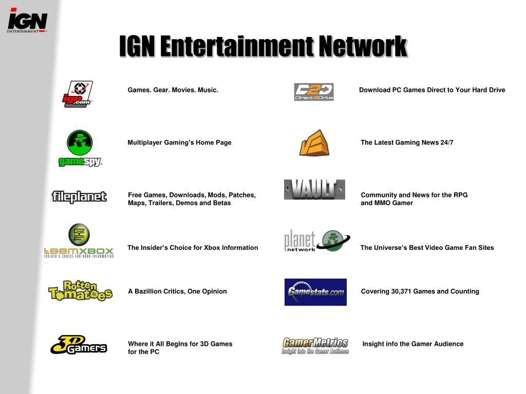 IGN Entertainment Network