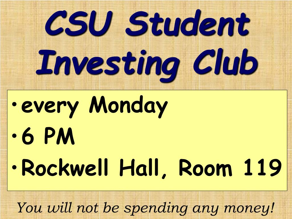 CSU Student Investing Club