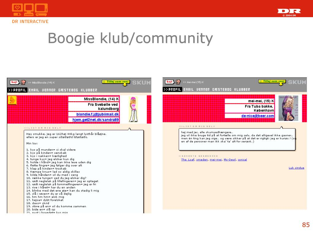Boogie klub/community