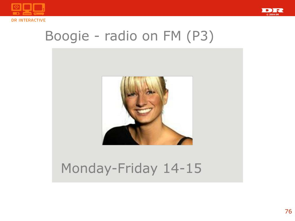 Boogie - radio on FM (P3)