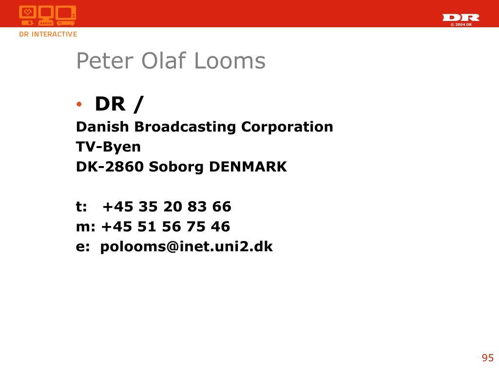 Peter Olaf Looms