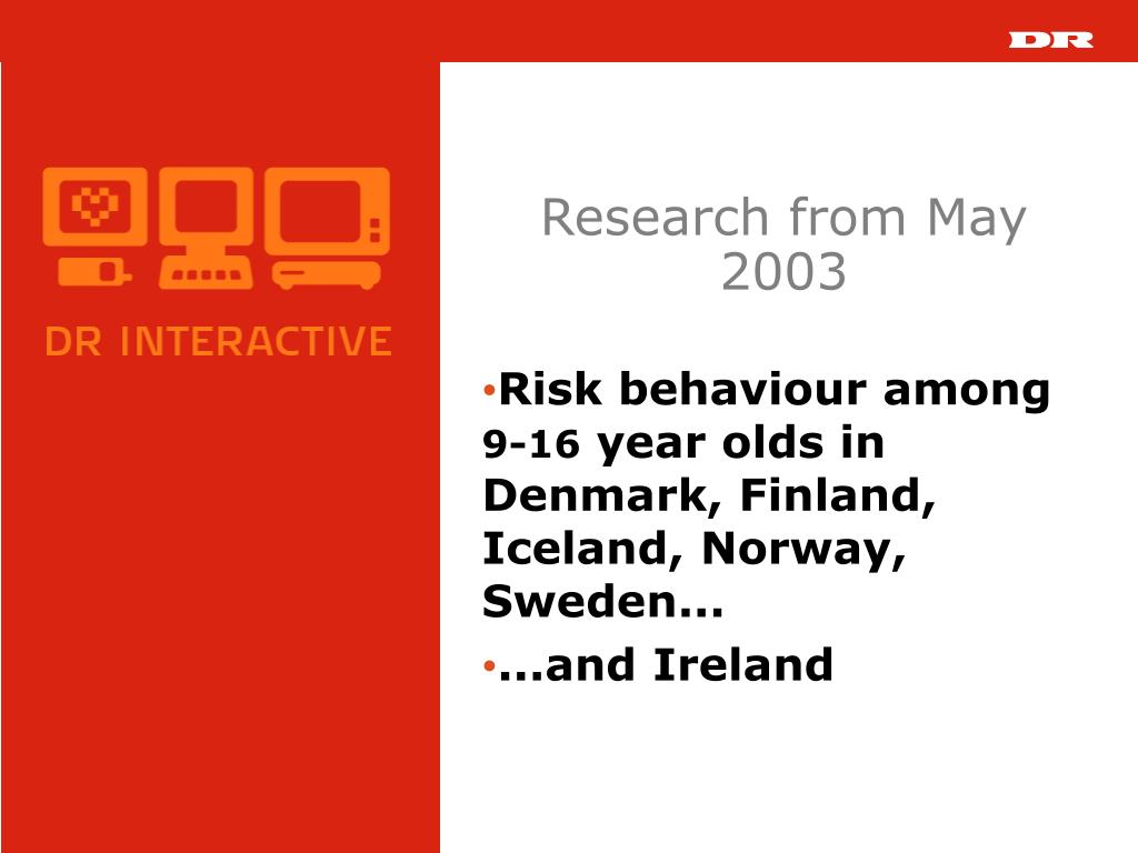 Research from May 2003