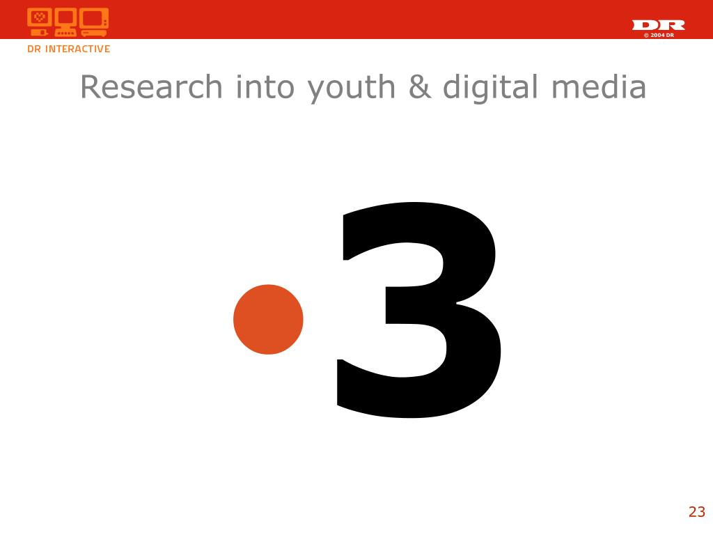 Research into youth & digital media
