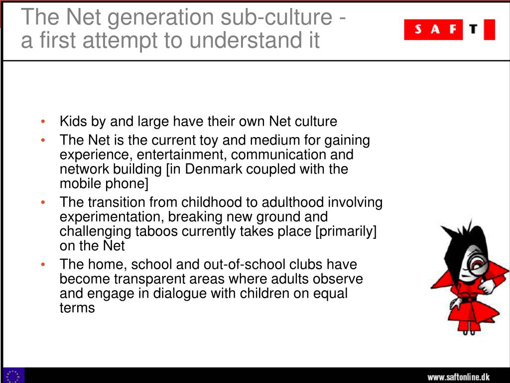 The Net generation sub-culture -