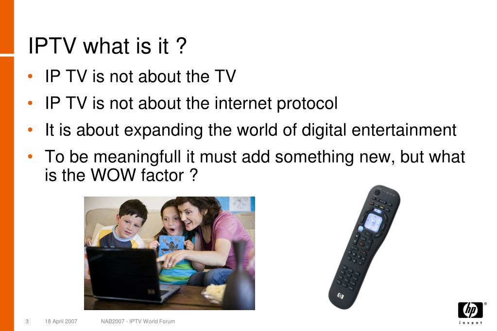 IPTV what is it ?