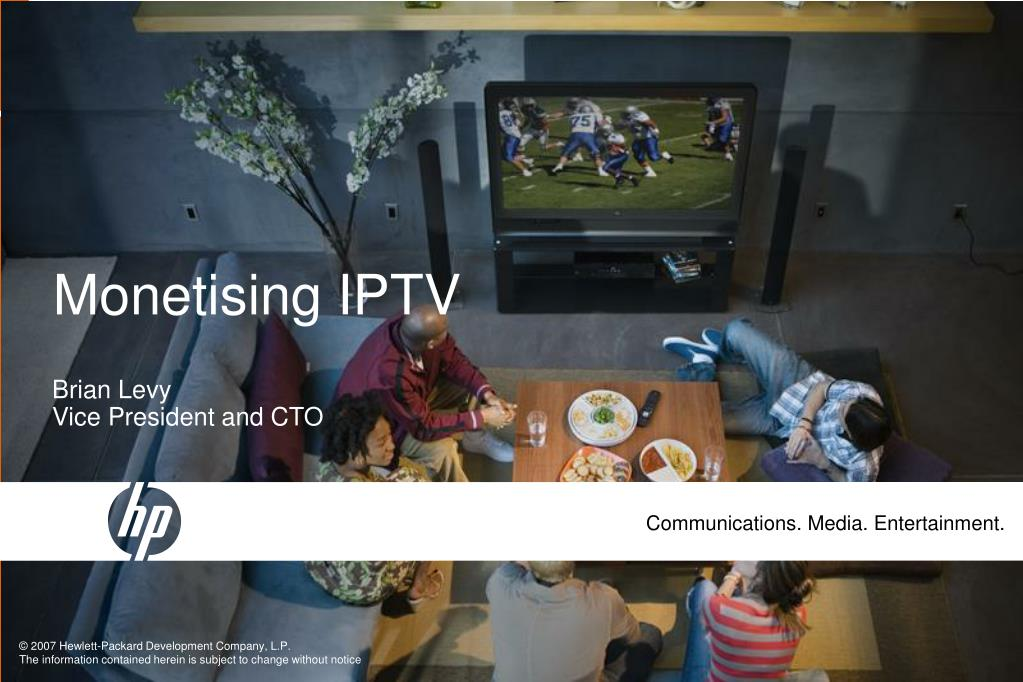 Monetising IPTV