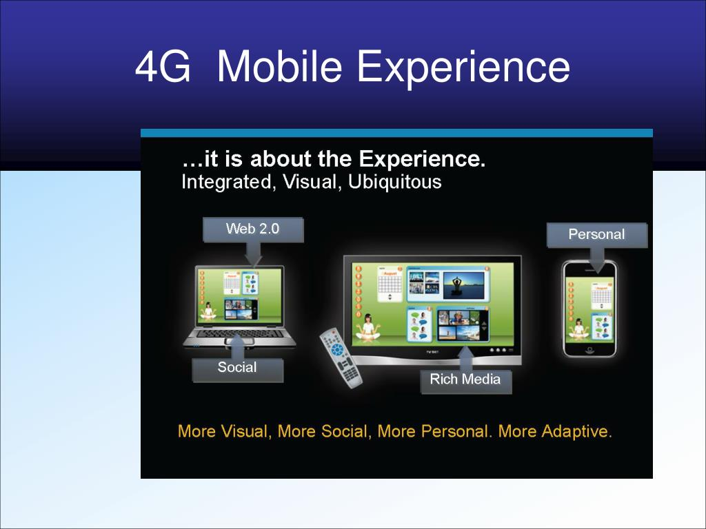 4G  Mobile Experience