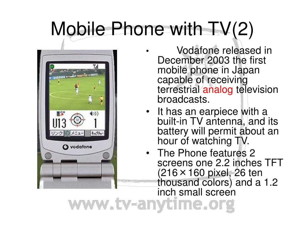Mobile Phone with TV(2)