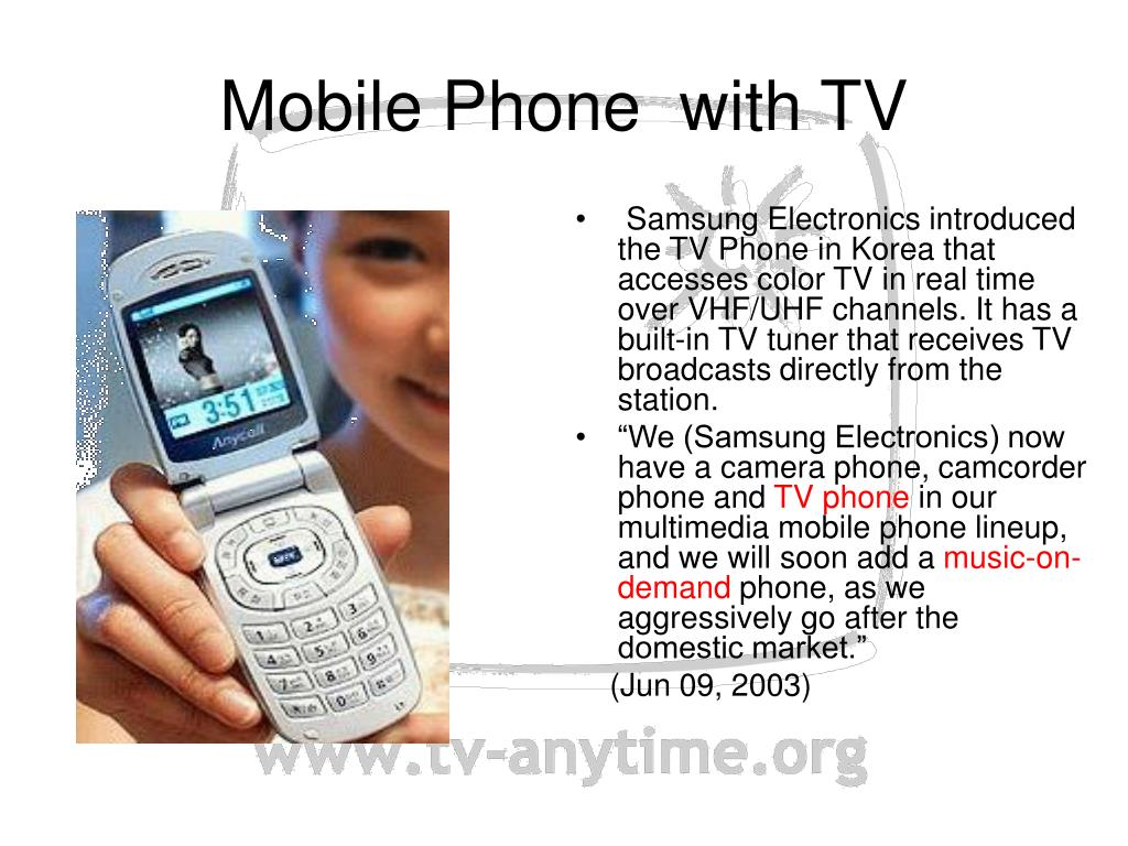 Mobile Phone  with TV