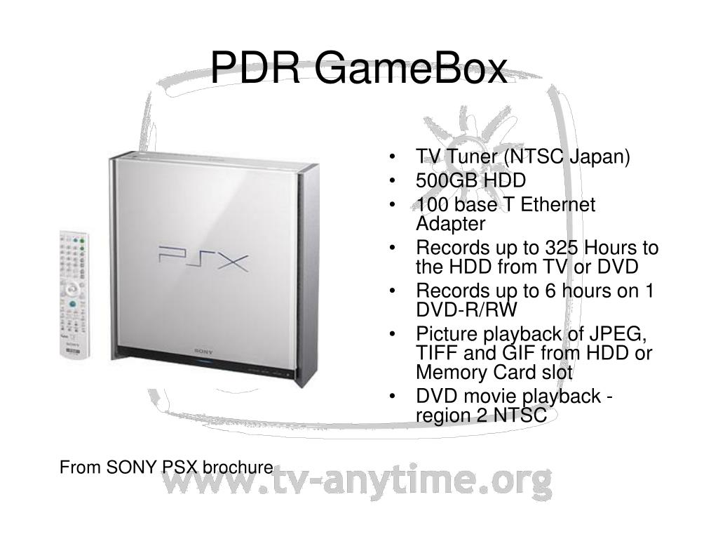 PDR GameBox