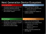next generation device ecosystem24