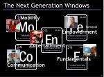 the next generation windows