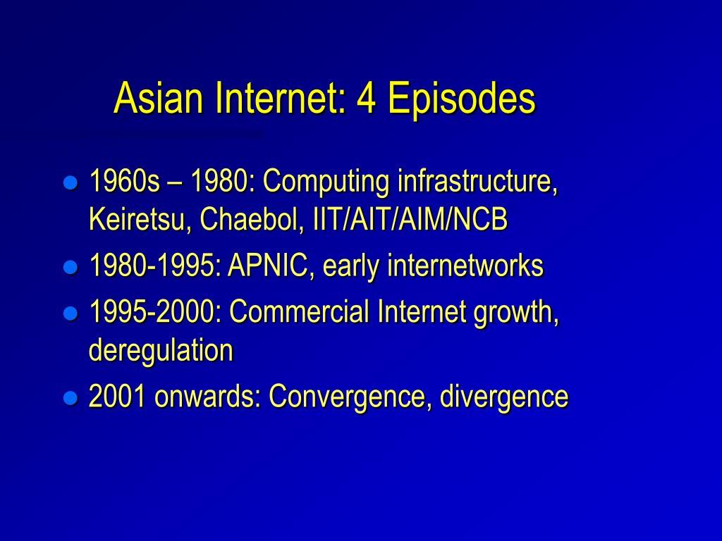 Asian Internet: 4 Episodes