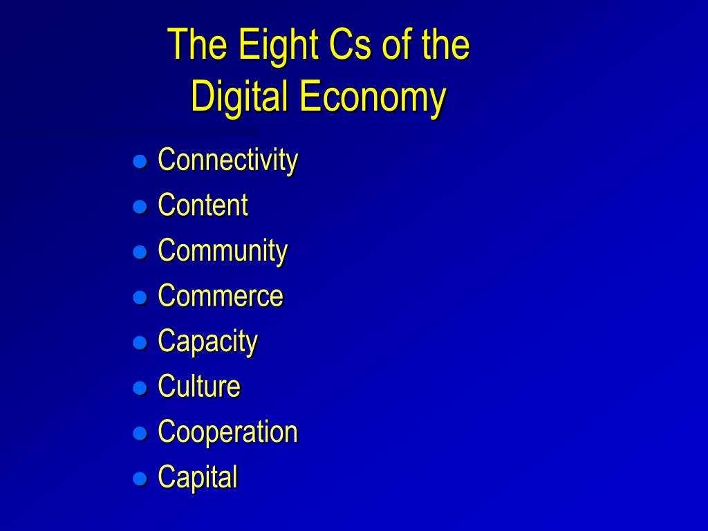 The Eight Cs of the