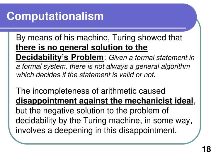 Computationalism
