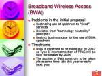 broadband wireless access bwa22