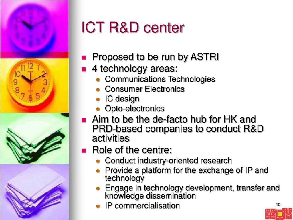 ICT R&D center