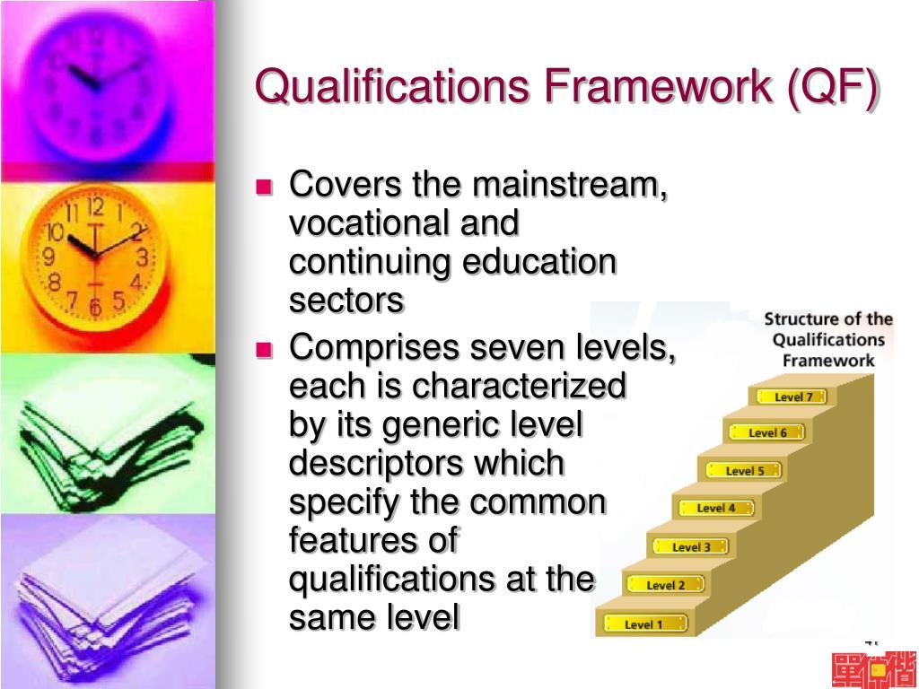 Qualifications Framework (QF)