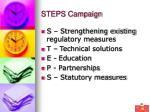 steps campaign