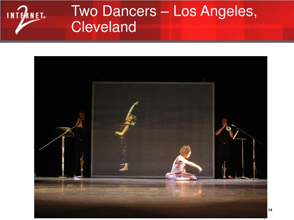 Two Dancers – Los Angeles, Cleveland