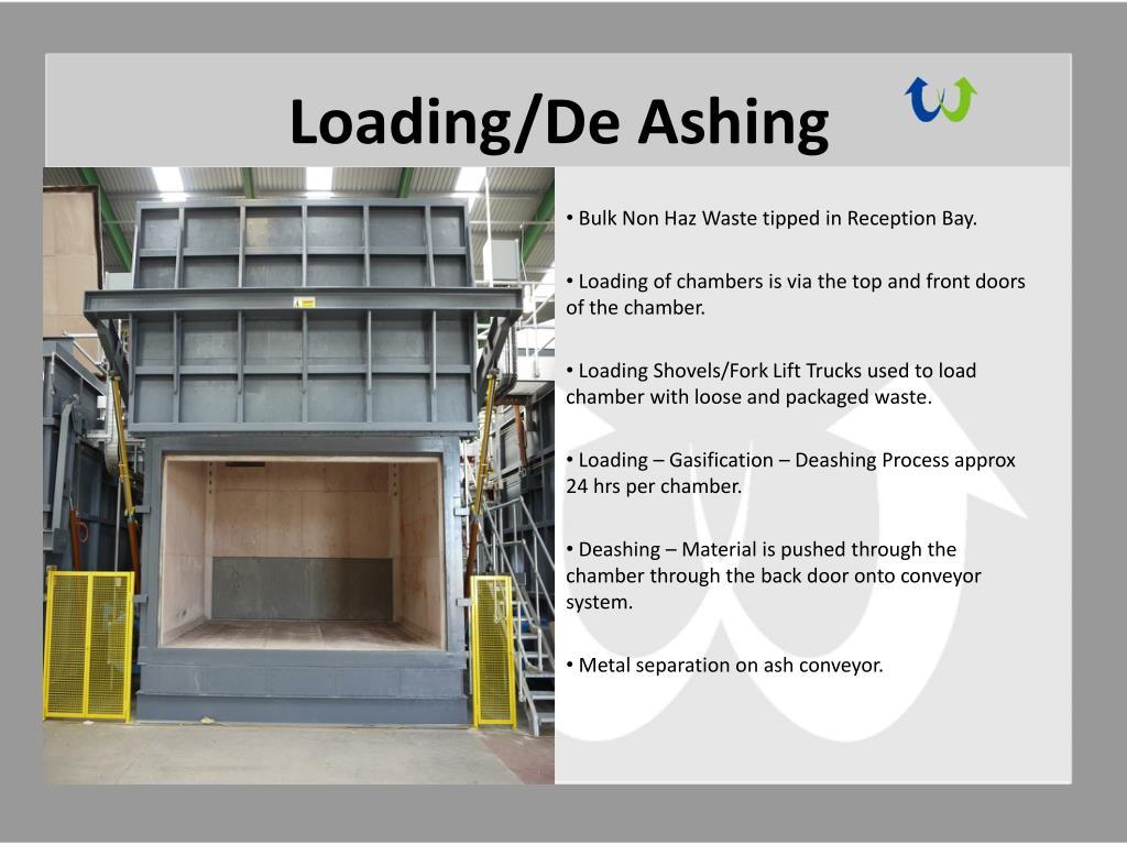 Loading/De Ashing