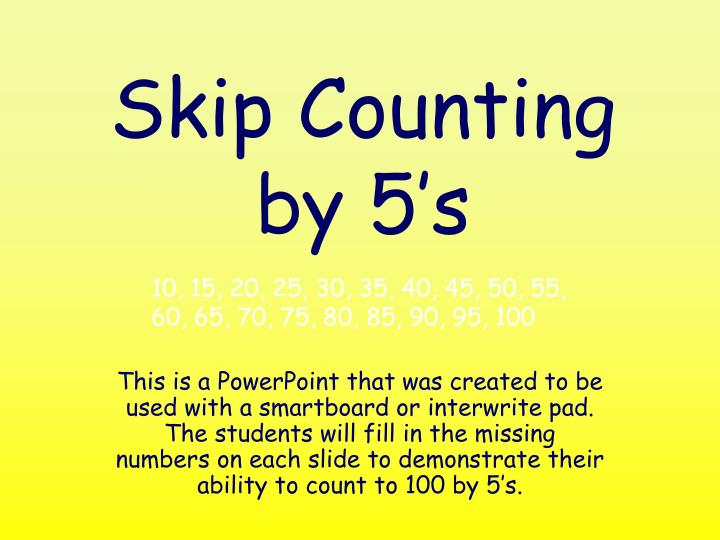 Skip counting by 5 s l.jpg